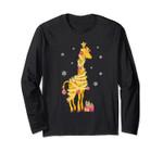 Giraffe Tree Light Christmas Gift For Men Women Long Sleeve