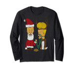 Beavis And Butthead Christmas Costumes Long Sleeve Tee