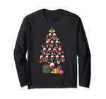 Wine Christmas Tree Long Sleeve Red Wine Day August 28