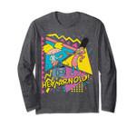 Hey Arnold Gerald Best Friends Boombox Long Sleeve
