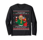 Golden Retriever Ugly Christmas Long Sleeve - Sweater Style