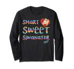 Jojo Siwa Smart Sweet Siwanator Rainbow Long Sleeve