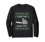 Ugly Christmas Sweater Long Sleeve Fixed The Newel Post