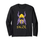 Skol Nordic Scandinavian Warrior Viking Helmet Long Sleeve