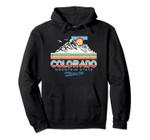 Classic Colorado Retro Colorful 80s Design Hoody