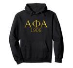 Alpha Phi Alpha Fraternity 1906 Hoddie