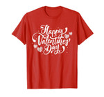 2019 Happy Valentine's Day T-shits Heart For Women Men Gift