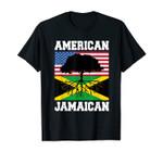 Jamaica Usa Flag Jamaican Roots American Born America
