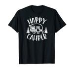 Happy Camper - Rv Trailer Outdoor Camping