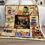 Cat Books Reading Sofa Throw Blanket TT122