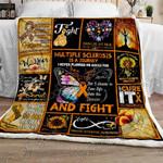 Multiple Sclerosis Journey Sofa Throw Blanket
