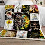 An Imperfect Person Loved By A Perfect God Sofa Throw Blanket