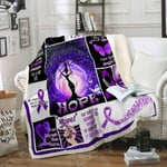 Lupus Awareness Warrior Sofa Throw Blanket P254
