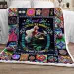 I Am An August Girl Sofa Throw Blanket TTL207