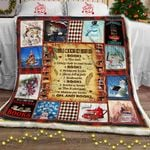 All I Want For Christmas Is Books Sofa Throw Blanket
