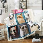 Grumpy Cat Sofa Throw Blanket P357