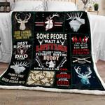 Hunting Dad Sofa Throw Blanket
