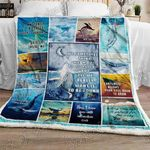 The Lonely Whale Sofa Throw Blanket NH26