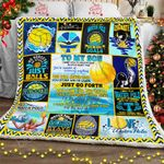 To My Son, Water Polo Sofa Throw Blanket