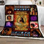 I Am A Scorpio Sofa Throw Blanket TT156
