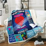You Can't Scare Me, I'm A Caregiver Sofa Throw Blanket NH289