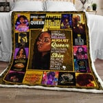 August Melanin Queen Sofa Throw Blanket PNM5m8