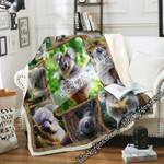 Koala Sofa Throw Blanket DNL1622
