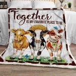 Together Is My Favorite Place to Be Sofa Throw Blanket NP160