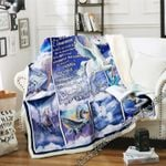 To My Granddaughter - Flying Horse Sofa Throw Blanket SHB39