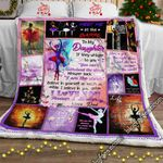 My Daughter You Are My Favorite Ballet Dancer Sofa Throw Blanket