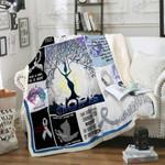 Lung Cancer Awareness Sofa Throw Blanket