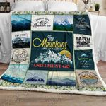 The Mountains Are Calling and I Must Go Sofa Throw Blanket NH94