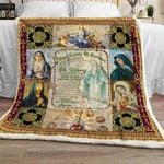Our Lady of Sorrows - Mother Mary Sofa Throw Blanket
