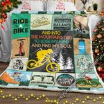 Mountain Biking Sofa Throw Blanket NH249