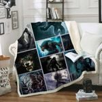 Wolfman Sofa Throw Blanket SS029