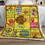 Social Worker Change the World Sofa Throw Blanket TT57