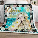 August Queen Sofa Throw Blanket NP172