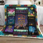 Husband and Wife, Camping Partners For Life Blanket TH677
