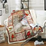 The Day God Took You Home Sofa Throw Blanket SLB39
