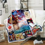 Puerto Rico A Place  Your Heart Will Always Be  Sofa Throw Blanket