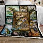 Largemouth Bass Sofa Throw Blanket NP114