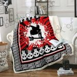 Skate Hard or Go Home Sofa Throw Blanket D288