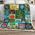 Teacher Life Sofa Throw Blanket NH123