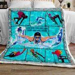 Swim With Your Heart Sofa Throw Blanket TT82