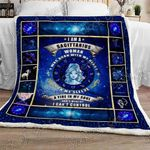 Sagittarius Woman Sofa Throw Blanket NH84