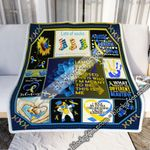 My Brave Warrior Down Syndrome Sofa Throw Blanket