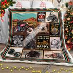 Being A Biker Sofa Throw Blanket CTN124