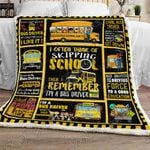 Proud School Bus Driver Sofa Throw Blanket NP224