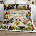 Life With Cows Sofa Throw Blanket NH155