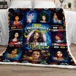 Strong Black Woman Sofa Throw Blanket TTL185